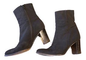 diseño innovador b5901 cea0c Botas Bota Zapatos Ann Taylor Barata Feria Americana Negras