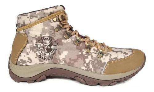botas botín camuflado estilo tactico zapatos hombre