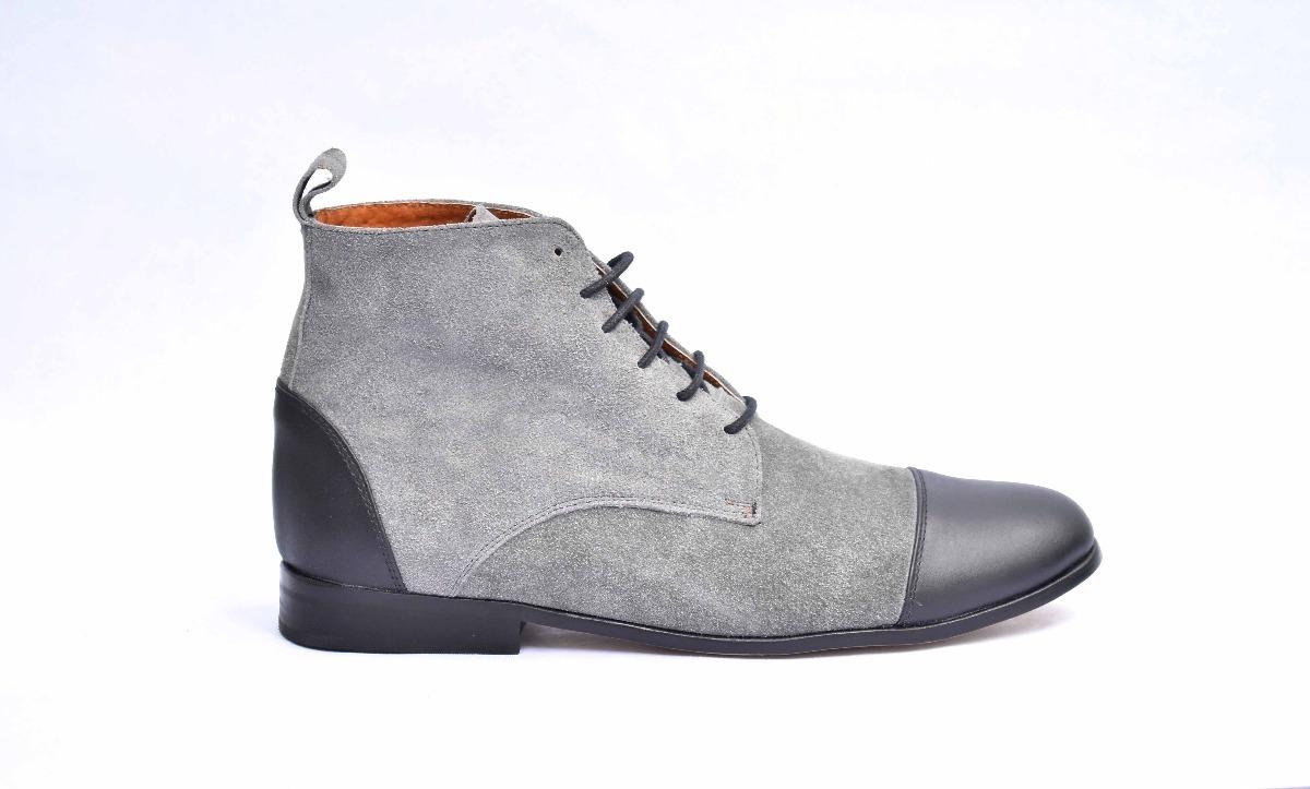 d09532ea6d4 botas botín casual piel bicolor para caballero andre bocassi. Cargando zoom.