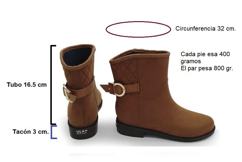 3d17e8404456c botas botines lluvia invierno termicas camel melle ulan. Cargando zoom.