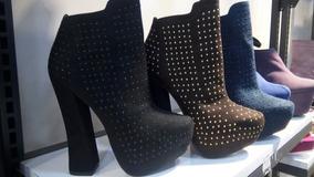 9b414163 Botas Botines Para Dama Plataforma Zapatos Tipo Timberland. Bs. 55.000