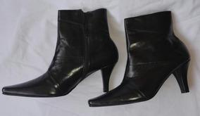 1a1f3993 Botines Dama Tacon Bajo - Zapatos Mujer en Mercado Libre Venezuela