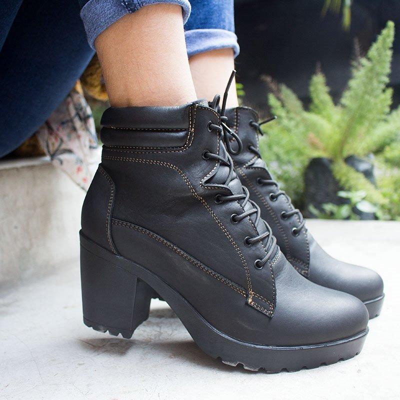 S Botines En Botas 149 00 Mujer Mercado Cuero De Casuales Zapatos OnPYwdPq