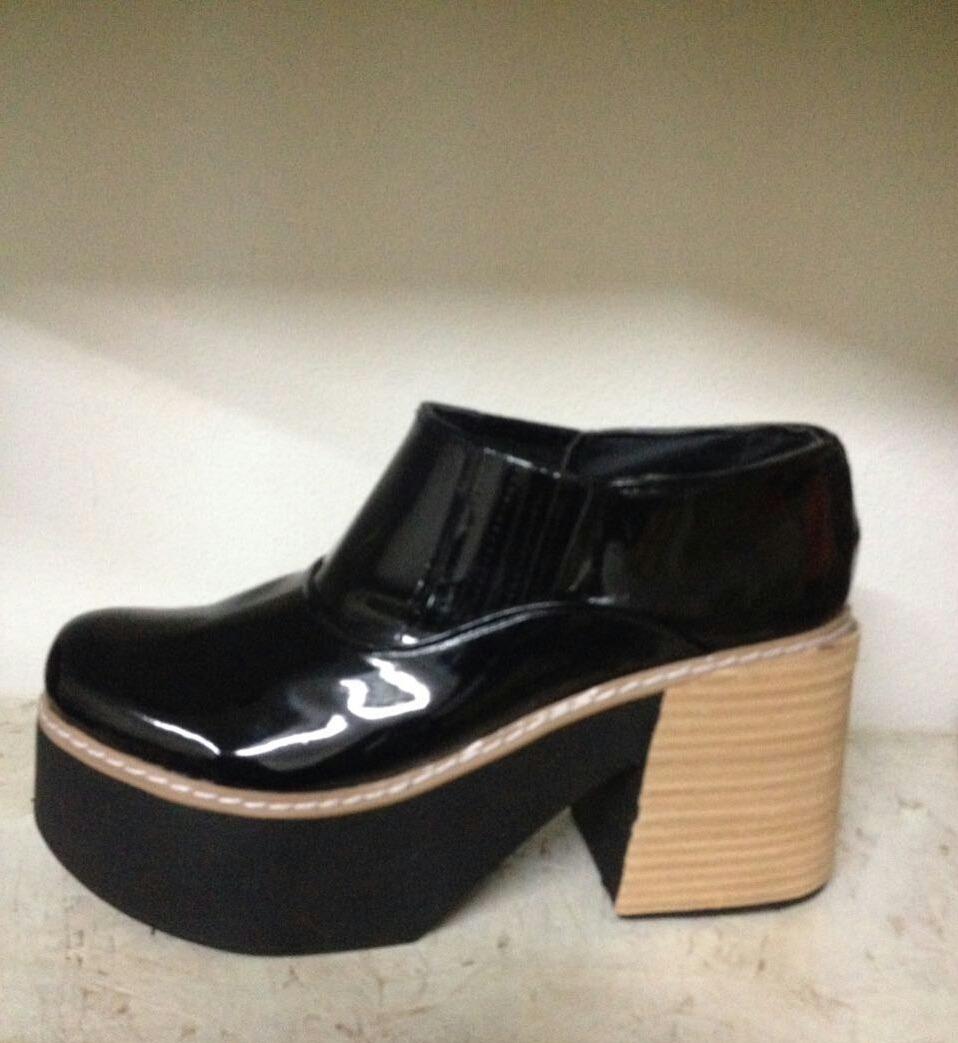 ea96b44d botas botineta zapatos plataforma mujer charol moda 2018. Cargando zoom.