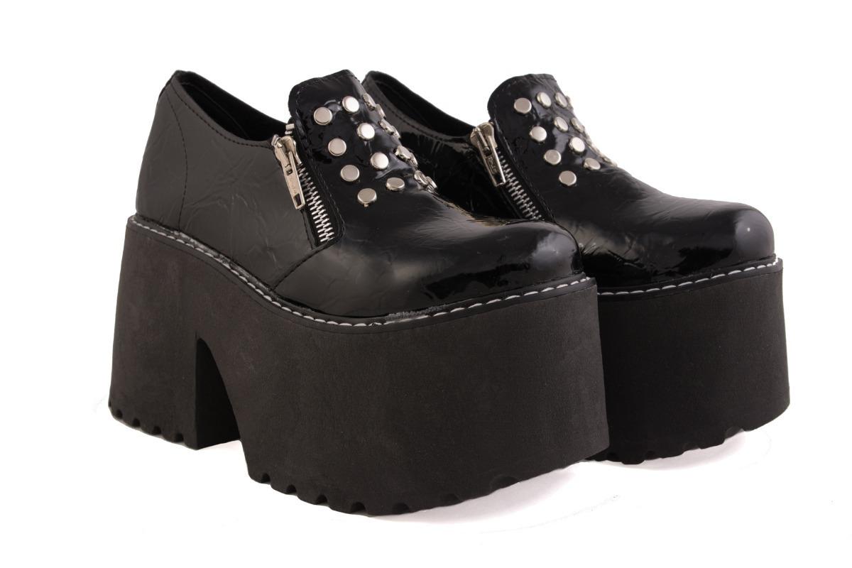 cb969d6c Botas Botineta Zapatos Plataforma Mujer Moda 2018 - $ 1.199,00 en ...
