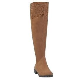 5b95ebba077a2 Botas Largas Color Camel Para Mujer Zapatos Botinetas - Botas y ...