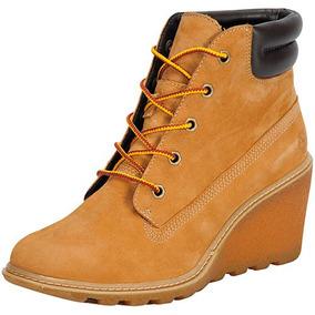 a7efba1c740de Botas Timberland Mujer Con Tacon Amarillas - Zapatos en Mercado ...