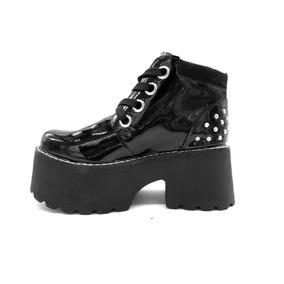 a07748b581b59 Zapatos Mujer Charol Cordones - Ropa y Accesorios en Mercado Libre ...