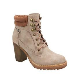 d472b67e81f Botines De Piso Color Beige - Zapatos de Mujer en Estado De México en  Mercado Libre México