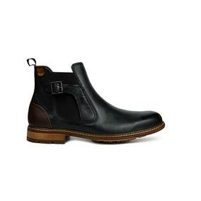 61d4c8a106a Botines Negros Con Hebillas Andrea - Zapatos de Hombre en Mercado ...
