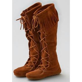 db7d0df085e Minnetonka Botas Con Flecos - Zapatos de Mujer en Mercado Libre México