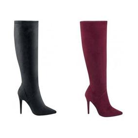 e7183a95b3 Bota Larga Yaeli 039 En Piel Negro Dama Price Shoes Rm4 - Botas y ...