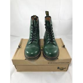 2551fcd6373 Botas Dr Martens Verde Militar - Zapatos en Mercado Libre México