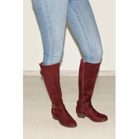 ca5caf8d3285a Botas Verde Olivo Largas 25 - Zapatos de Mujer en Mercado Libre México