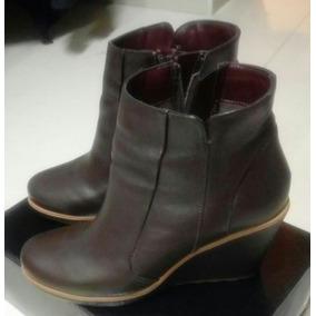 ff8a04a7a1265 Botas Negras De Piel Doble Plataforma Andrea - Zapatos de Mujer en ...