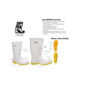 bc220bfe4fa Bota Sanitaria Dry Pro Econo-flex Suela Amarilla