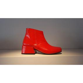 df0a270a61fd6 Botitas Nike Mujer Con Taco Interno - Ropa y Accesorios Rojo en ...