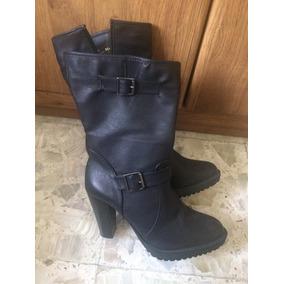 e900e6141e607 Botas Cortas Botinetas Color Negro Sin Tacon Mujer - Zapatos en ...