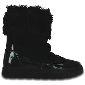 e73522e3eea Bota Dama Crocs Lodgepoint Lace Boot W Negra