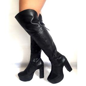 46390ed45e5 Polainas Mujer Bucaneras Talle 41 - Zapatos 41 Negro en Mercado ...