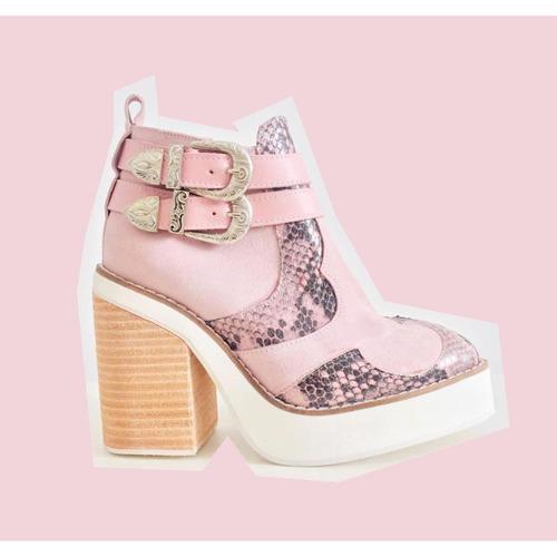 botas botinetas mikana pink miux inv'17 entrega inmediata!!