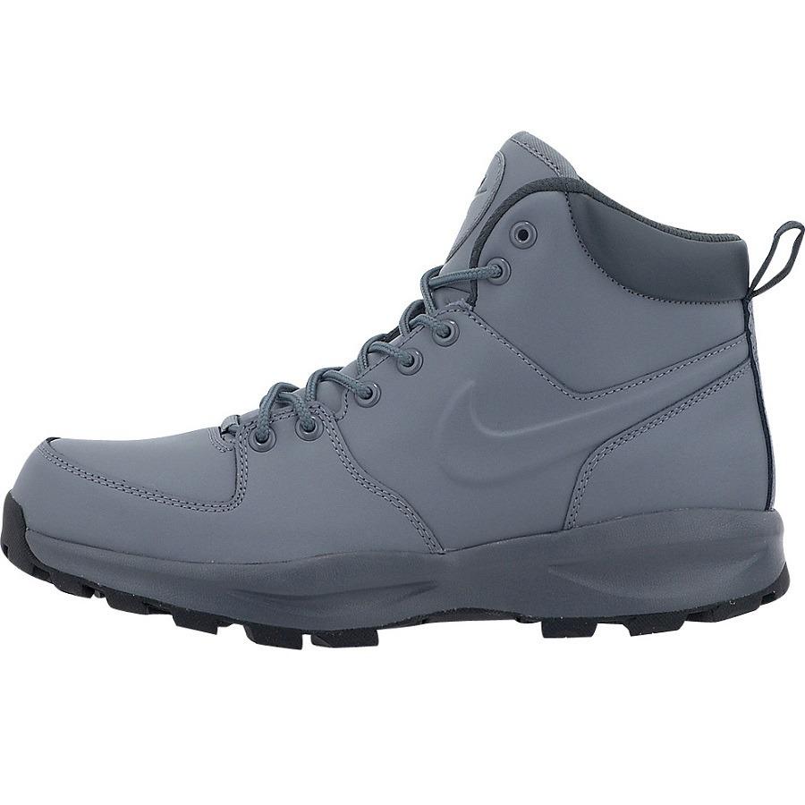 0b6466de616 botas caminata nike acg piel manoa gris suela terra gym. Cargando zoom.