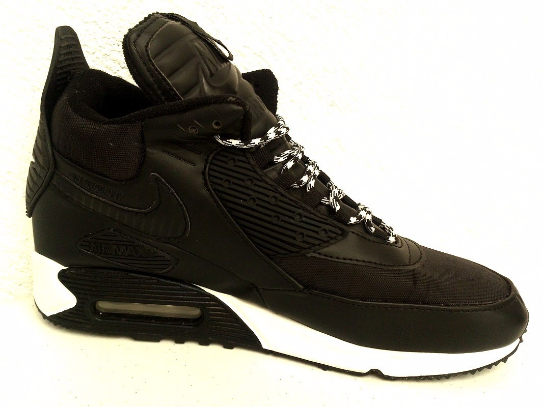 clearance nike air max 90 waterproof zapatillas boots negro