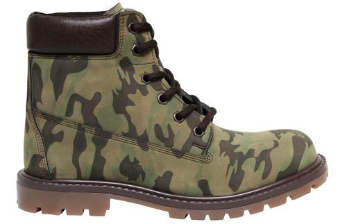 botas camuflaje