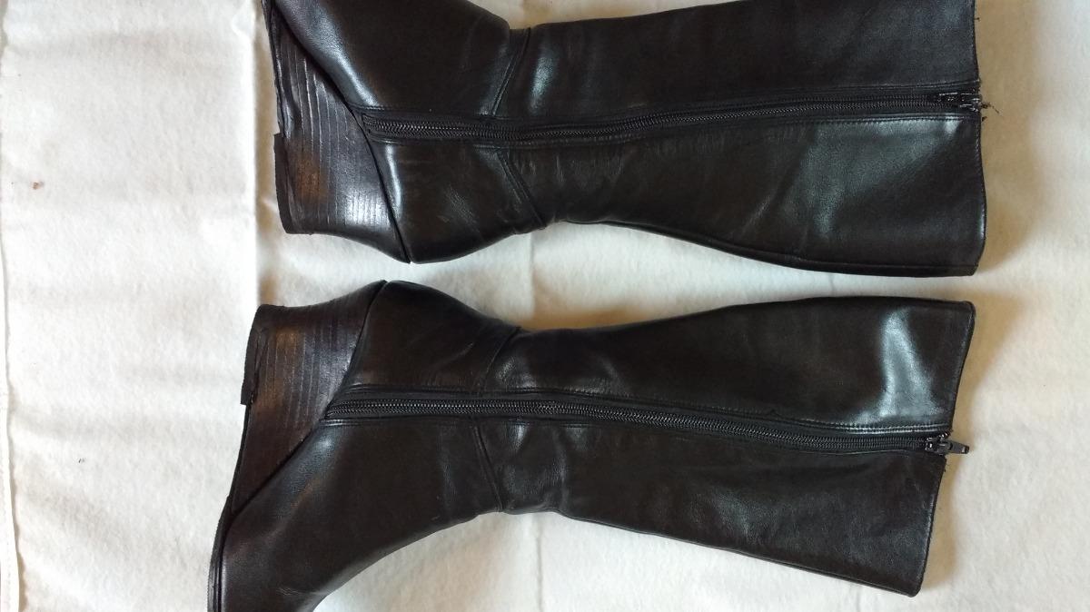 botas caña alta cuero taco chino con cierre interior. Cargando zoom. fee6af6403f41