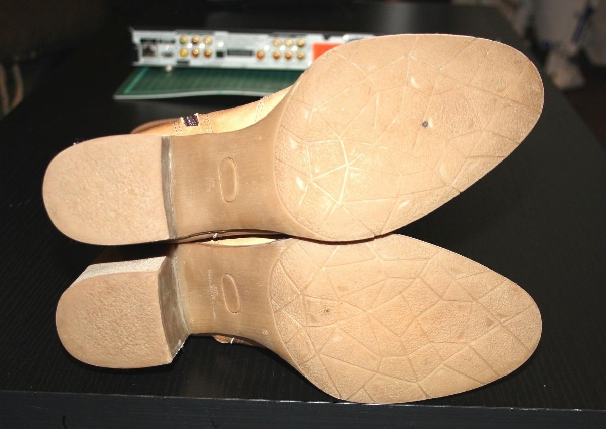 8bb04a41f botas caña alta de cuero camel claro talle 38. Cargando zoom.