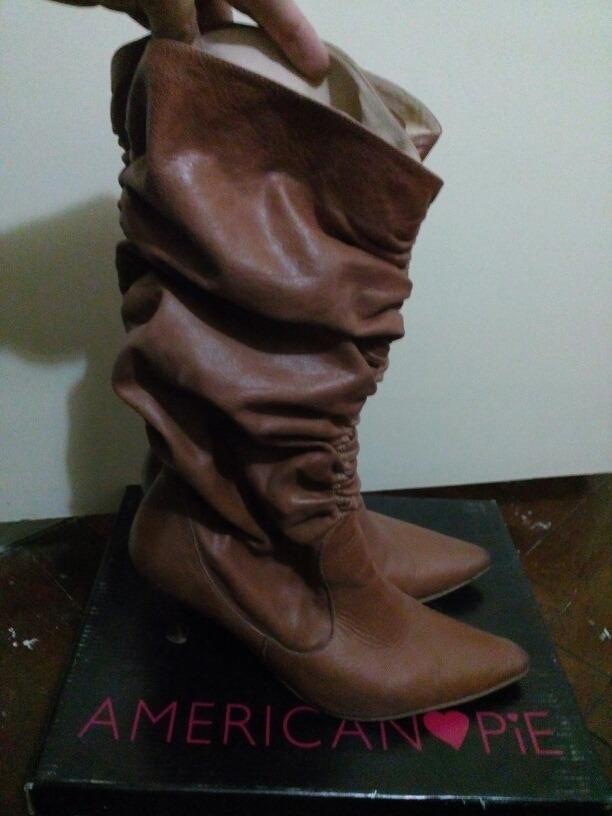 6975750167cd5 botas caña alta fruncidas. Cargando zoom.