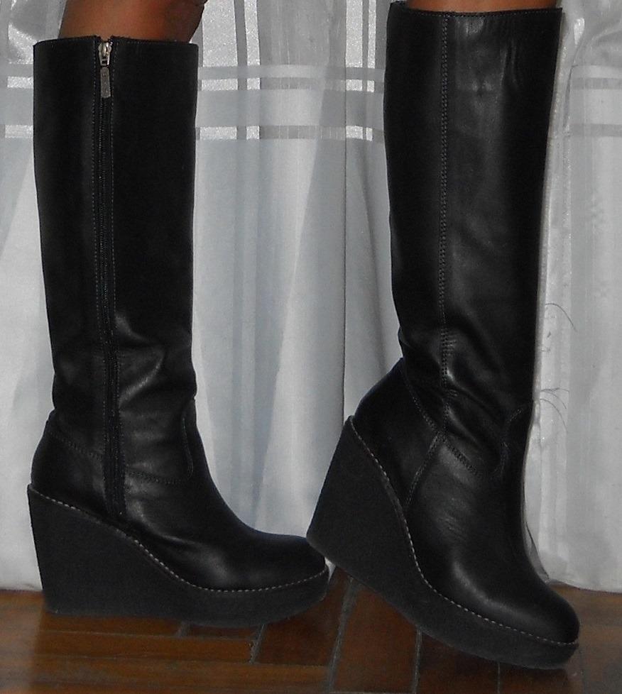 fc8df99eb botas caña alta heyas cuero talle 37 excelente estado!! Cargando zoom.