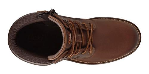 botas casuales para dama flexi 37807 whisky
