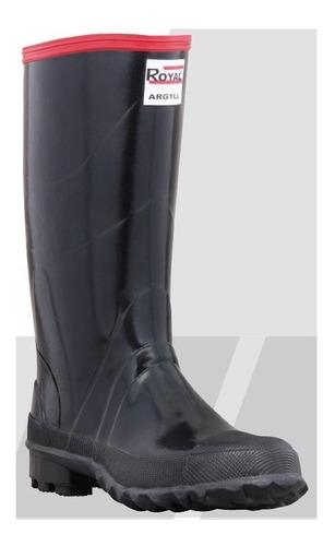 botas caucho royal argyl antideslizante impermeable dotacion