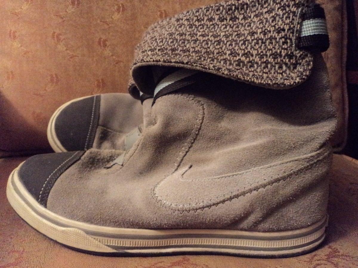 botas de cuero nike