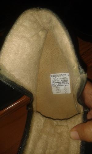botas charito de cuero talla 34 nuevos