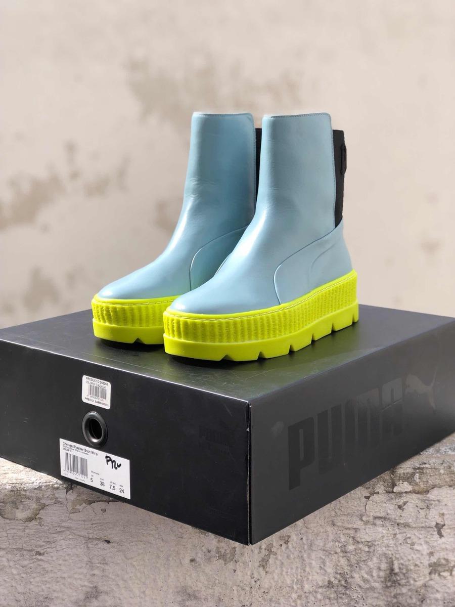 brand new ab380 c6ed6 Botas Chelsea Puma Rihanna Fenty Sneaker Boot 23