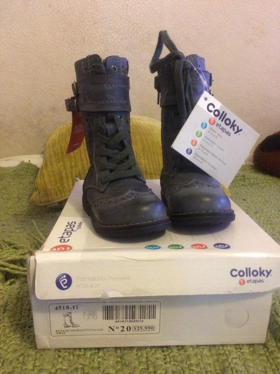 Botas Colloky Gris -   15.000 en Mercado Libre 43f63b091eb92