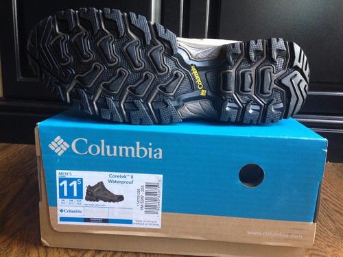 botas columbia coretek ii omni-grip waterproof 26 a 29 cms
