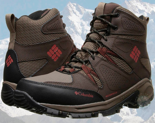 botas columbia waterproff cuero trekking nieve local palermo