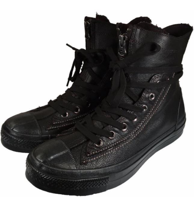 botas converse de piel