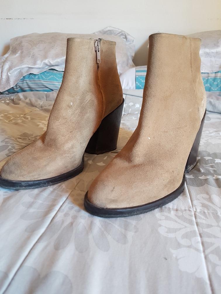 Suela Cortas Botas Cob En Zapatos 750 Cuero 00 Zara 40 1ewqsy Febo U1vwqz1