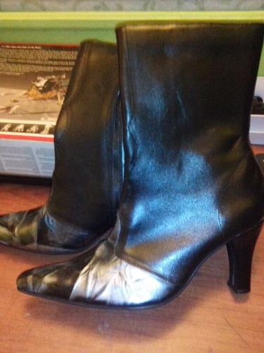botas cortas de dama talla 38