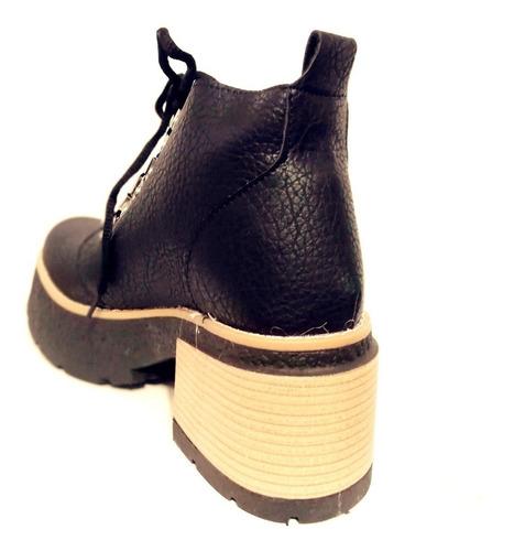 botas cortas zapatos calzados bota moda mujer fiorcalzados