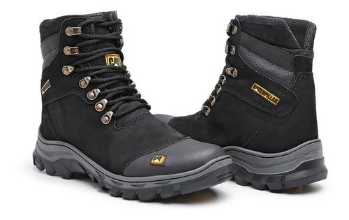 botas coturnos caterpillar em couro sapatos botinas promocao chinelos