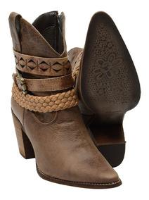 28fbf296a Lojas Polyelle Calcado Sapatos Feminino Ankle Boots - Sapatos com o ...