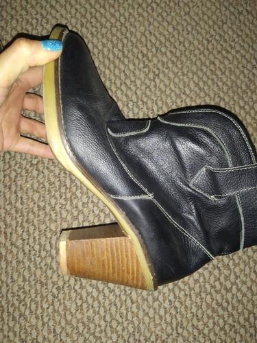 botas cuero