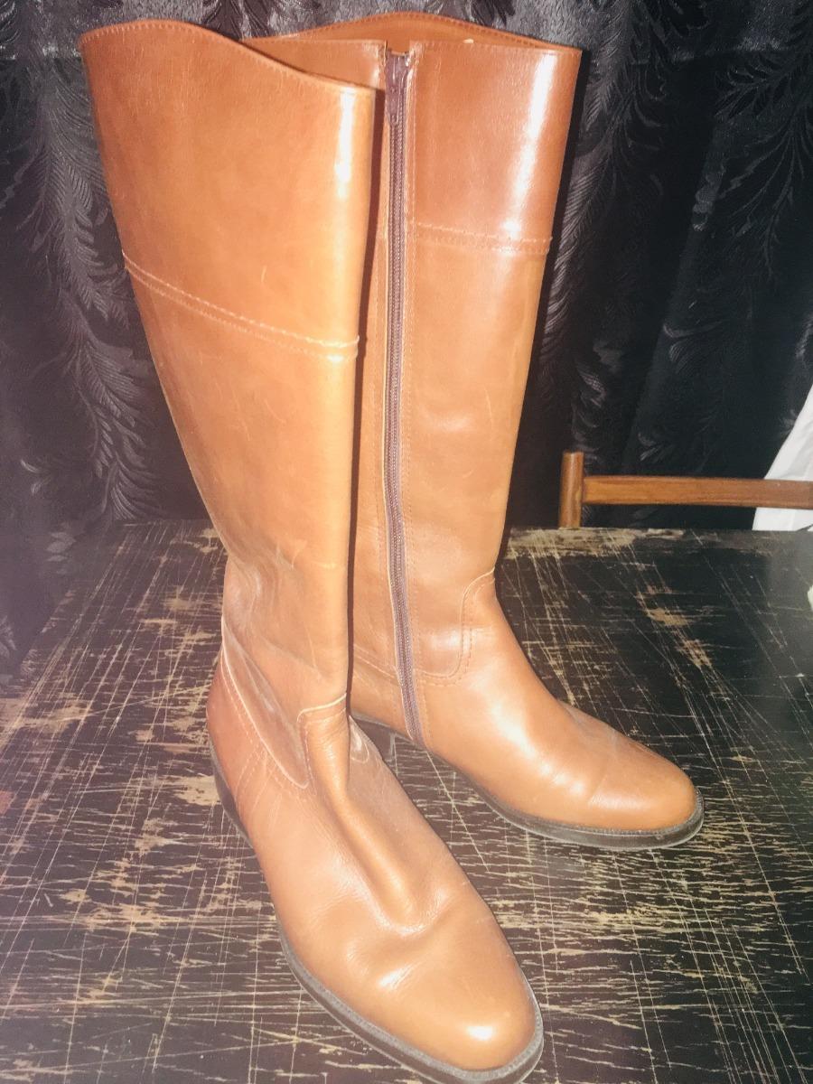 da3571f555e botas cuero mujer caña alta excelente estado oferta. Cargando zoom.