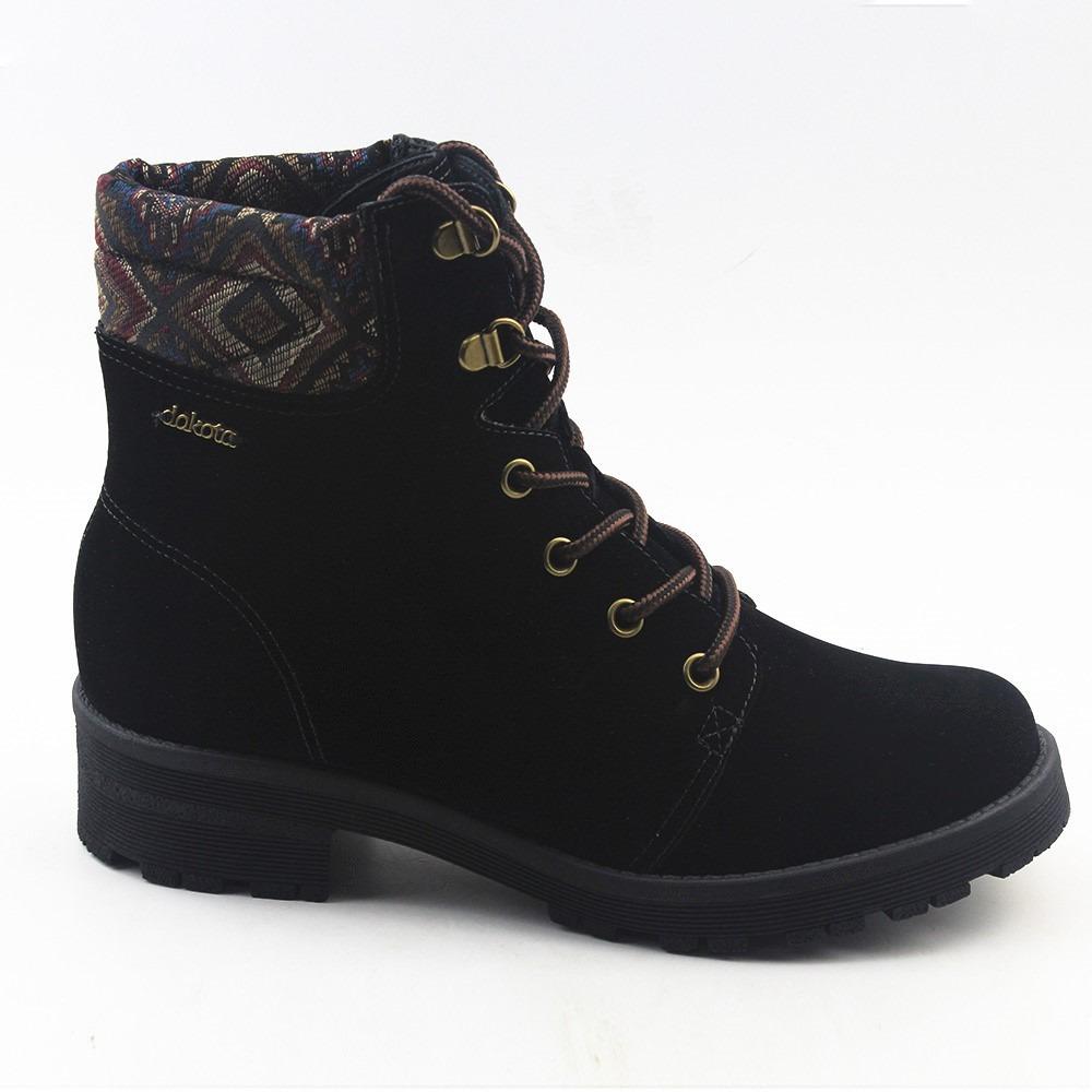 6579a4f726 botas dakota coturno feminino coleção 2016 preto - 582874. Carregando zoom.