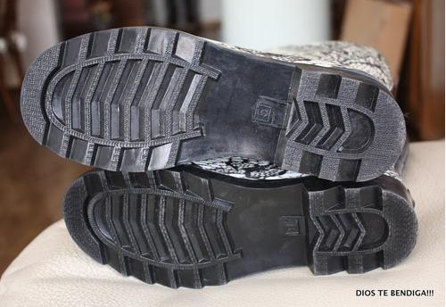 botas de agua de niña estampadas con encaje 34